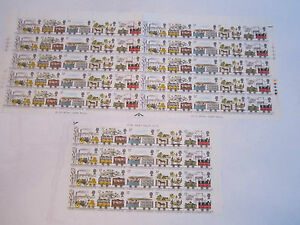 MINT-70-1980-LIVERPOOL-amp-MANCHESTER-RAILWAY-STAMP-SHEET-70-STAMPS-TOTAL