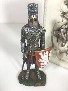 Myths-Legends-Historical-Knight-Lion-Hand-Painted-Figure-Canterbury-Fantasy-8531