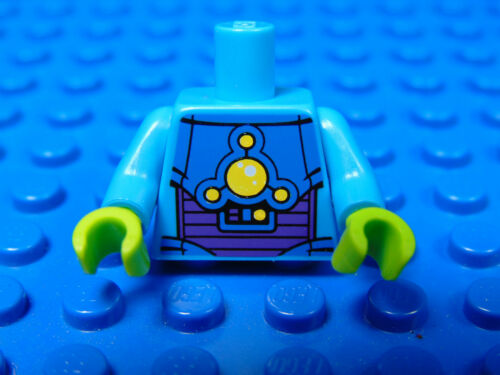 13 LEGO-MINIFIGURES SERIES X 1 TORSO FOR THE ALIEN TROOPER  FROM SERIES 13