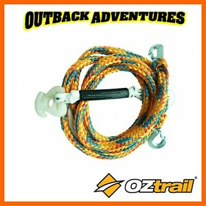 OZTRAIL-SKI-ROPE-BRIDLE-HEAVY-DUTY-4M-LONG-WATER-SPORTS-WSP-TSRSC-D