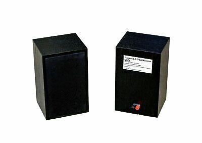 "Quantity 10-4BA Rogers LS3//5A Black 1/"" Steel CSK Screws for Loudspeaker"