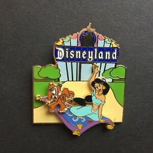 DisneyPins-com-Disneyland-Marquee-Jasmine-amp-Abu-LE-1000-Disney-Pin-35580
