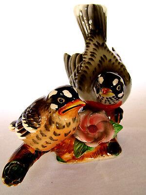 Vintage small chick porcelain figurine