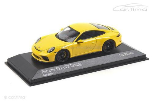 991 II gt3 touring-racinggelb-Minichamps 1:43-410067421 Porsche 911