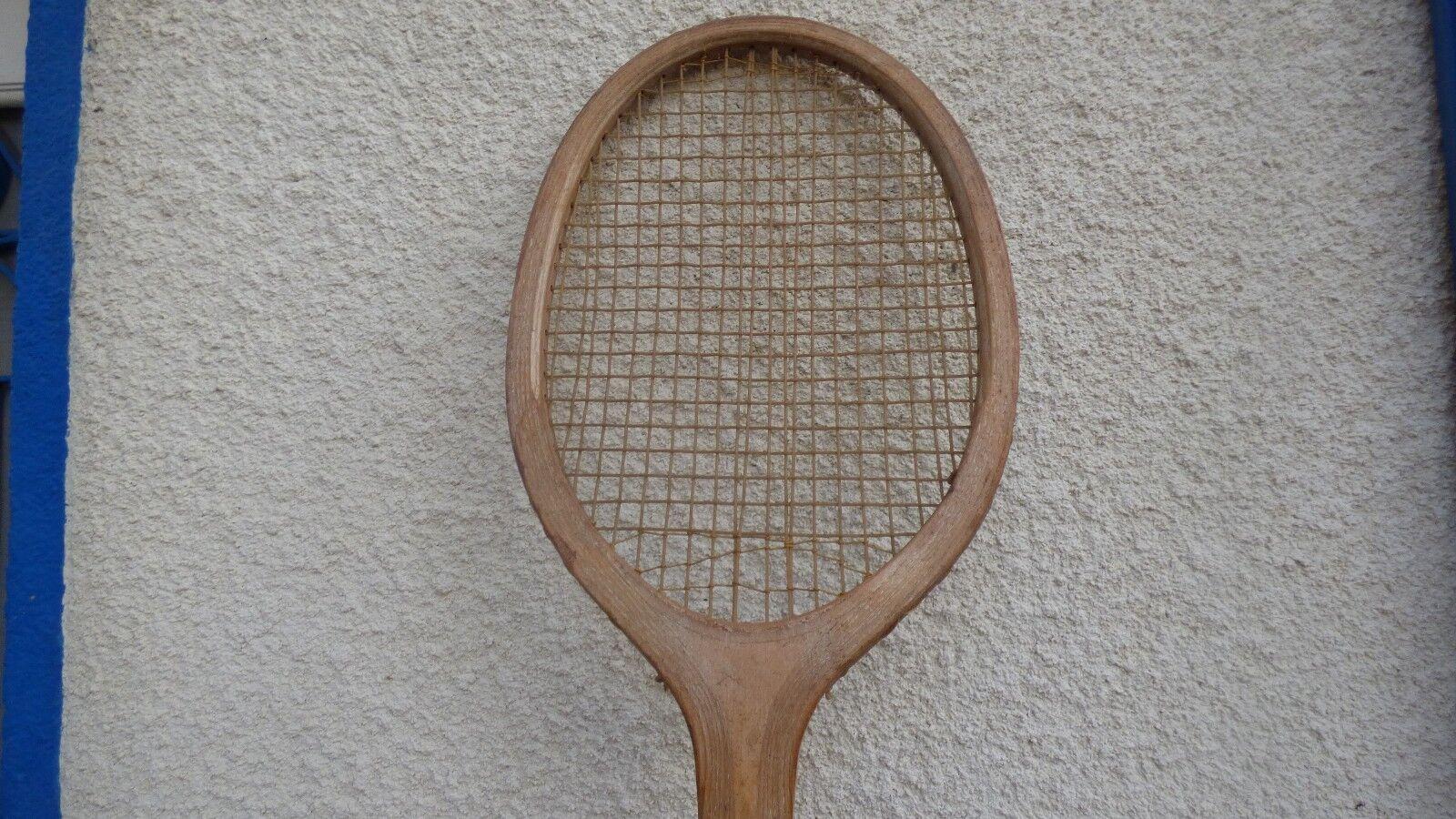 Tennisschläger vintage Spring aus aus aus Holz aus Holz Schläger 04aa93