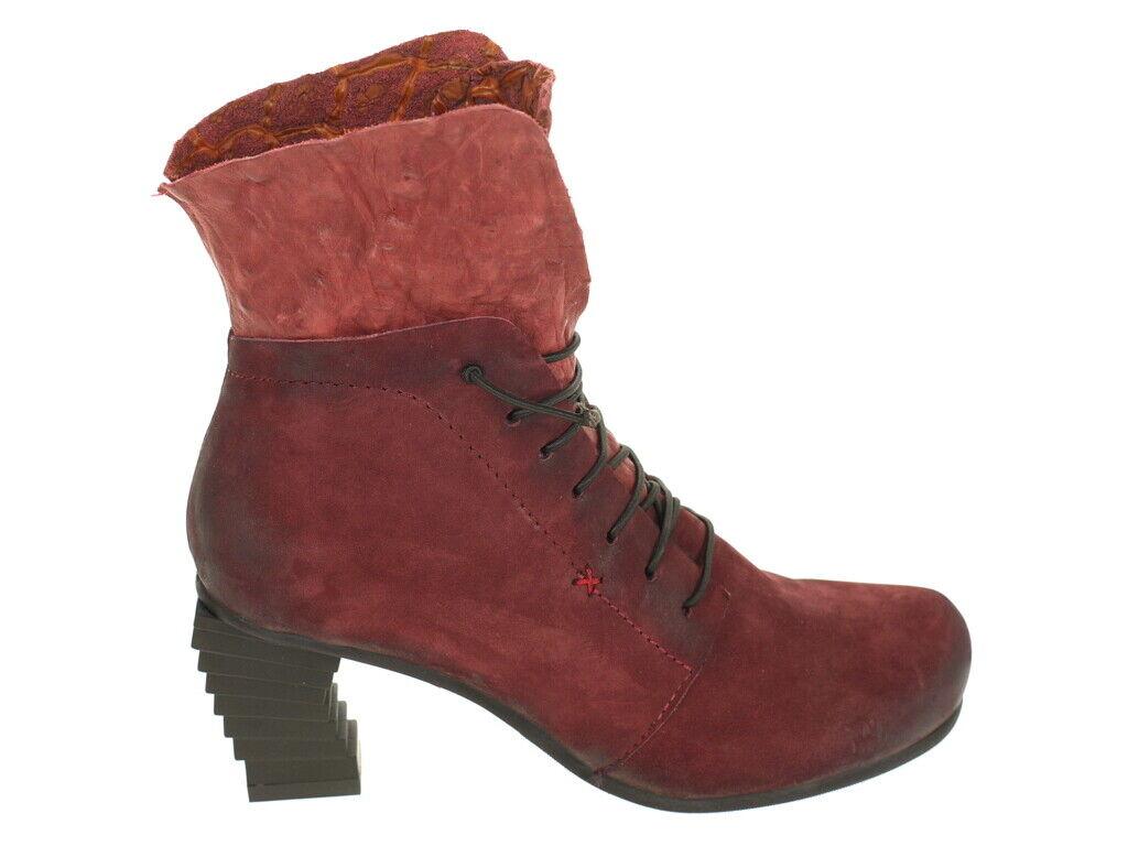 Papucei Schuhe Stiefelette Trica Bordeaux Gr. 40 Original Neu und OVP