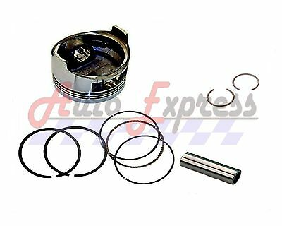 NEW Honda GX120 PISTON & RINGS  WITH WRIST PIN & CLIPS ALSO FITS LIFAN  4hp