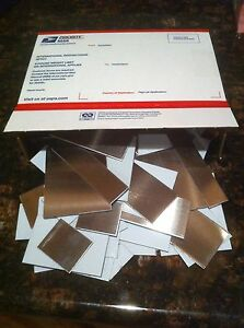 22Gauge & 24Gauge Stainless Steel Sheet Metal Scrap Cut Offs 304 Grade 7lbs+