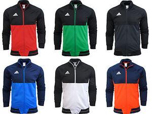 Adidas-Tiro-17-Mens-Training-Top-Jacket-Jumper-Gym-Football-With-Pockets-Sport