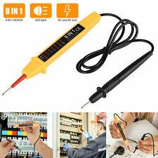 Details about  /8 IN 1 6V-380V Voltage Tester Pen AC DC Volt Alert Power Detector Sensor