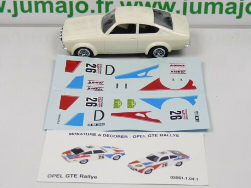 Hergestellt IN Frankreich SOL24N Auto 1//43 Solido Opel Kadett Coupé