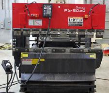 50 Ton Amada Hydraulic Up Acting Hydraulic Press Brake 598 Distance Between Ho