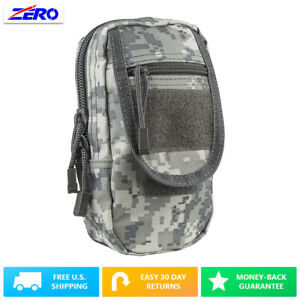 Digital Large Utility Pouch Heavy Duty PVC MOLLE PALS Tactical Gear Zippered