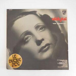 Edith Piaf Mon Legionnaire Schallplatte D'Or 6332 201