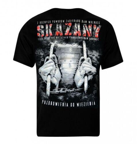 T-Shirt Koszulka Polska Hooligans PDW Pozdrowienia Do Więzienia CHWDP JP