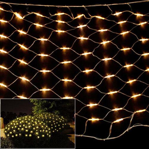 880LEDs Net Mesh Light LED String Fairy Lights Wedding Party Garden Xmas Decor