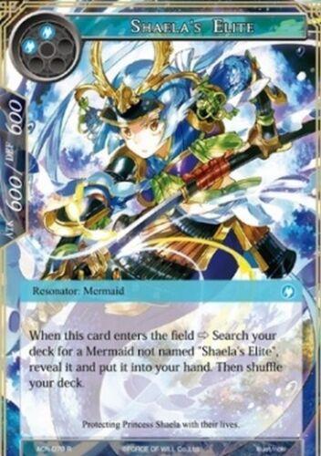 Shaela/'s Elite FoW ACN-078 R Ita//Eng Guardia Scelta di Shaela