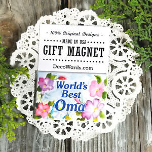 Worlds-Best-OMA-GIFT-MAGNET-Decorative-Greetings-All-Grandparent-Names