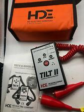 Greenlee Textron Hde Tl Man N Hde Tilt Ii Transformer Tester With Manual Self Test