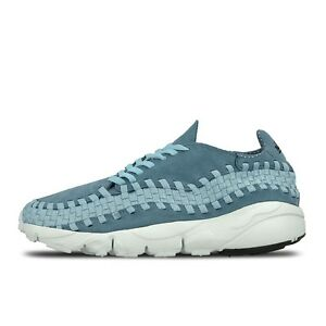 NIKE MEN'S AIR FOOTSCAPE WOVEN WVN NM SMOKEY BLUE MICA BLUE 875797-002