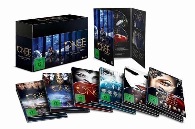 Once Upon a Time - Es war einmal ... Komplette Serie [DVD] DEUTSCH Staffel 1 - 7