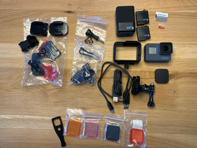 Actionkamera, digitalt, GoPro, Hero 5 Black, Perfekt, Meget…