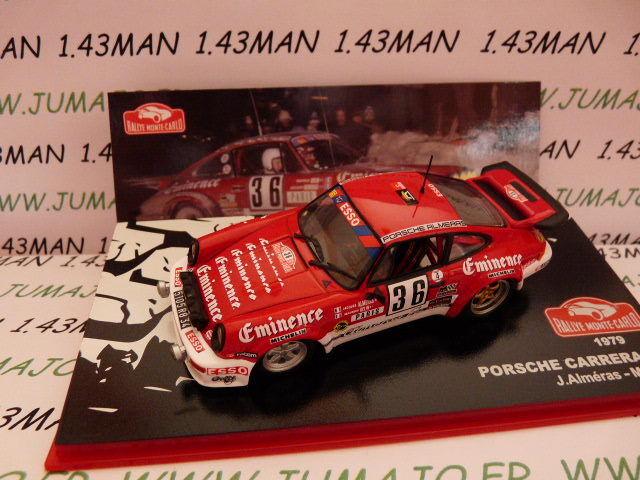 RMC3M 1/43 IXO altaya Rallye Monte Carlo PORSCHE 911 Carerra RS 1979 Alméras #36