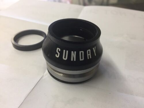 SUNDAY BMX BIKE CONICAL INTEGRATED BICYCLE HEADSET ODYSSEY CULT PRIMO SHADOW