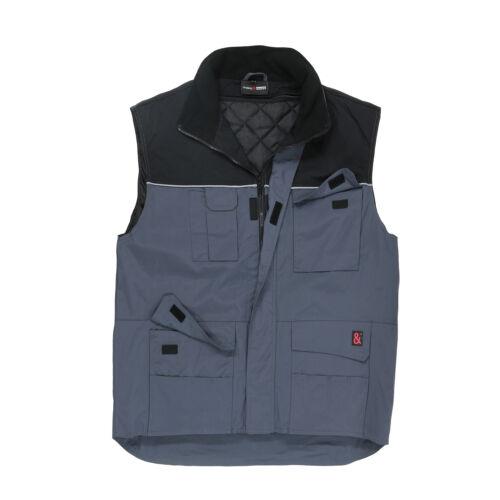 Mens Work Vest Work Wear Waistcoat Plus Size 3xl 4xl 5xl 6xl 7xl 8xl 10xl