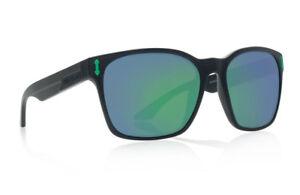 New Dragon Liege Sunglasses Matte Black H20/Green Ion Polarized Lens 30102-045