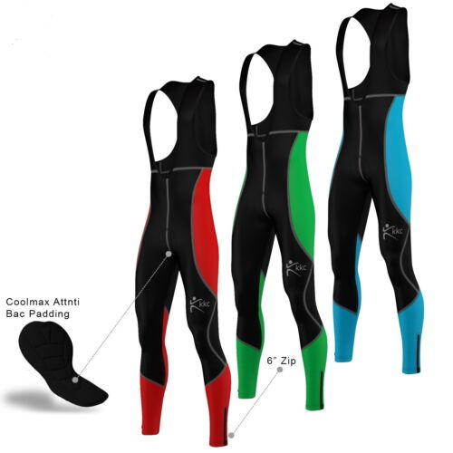 Men Cycling Bib Tights Thermal Padded Cycling Tights