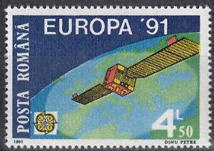 Humour Roumanie Nº 4653 ** Europa Cept 1991/spatiale Européenne Voyage-afficher Le Titre D'origine DernièRe Technologie