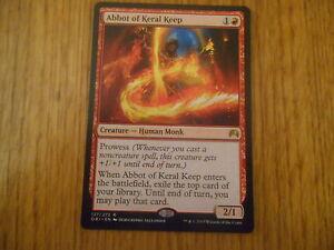 x1-Carte-Magic-MTG-Abbe-de-La-Forteresse-de-Keral-VO-Rare-Magic-Origines