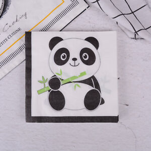 20pcs-Panda-Theme-Paper-Napkins-For-Kids-Birthday-Party-Tissue-Napkin-Decor-I