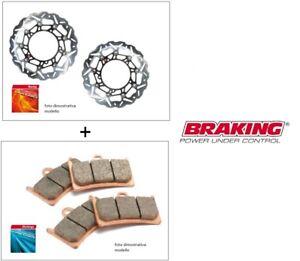 Coppia-dischi-Braking-MARGHERITA-Pastiglie-SINT-Ducati-848-EVO-11-13