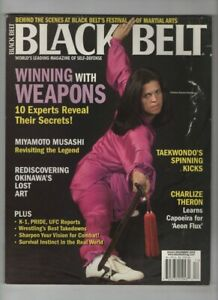 Black Belt Magazine Charlize Theron Christine Bannon December 2005 052820nonrh