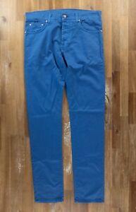 2ecc8154 Details about ISAIA Napoli slim-fit blue jeans - Size 32 US / 48 EU - NWOT