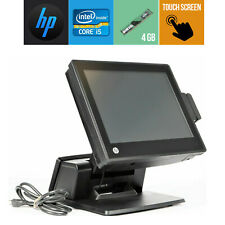 Pos System Touch Screen Hp Rp7 Rp7800 Core I5 4gb Ram