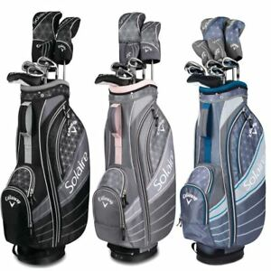 New-2018-Callaway-Solaire-8-Piece-Ladies-Golf-Package-Set-Choose-Your-Color