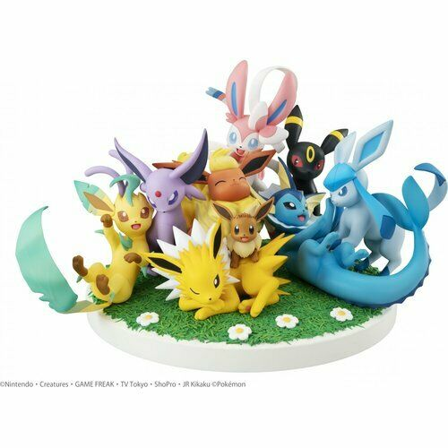POKEMON - Eevee Friends Pvc Figura G.E.M. EX Megahouse