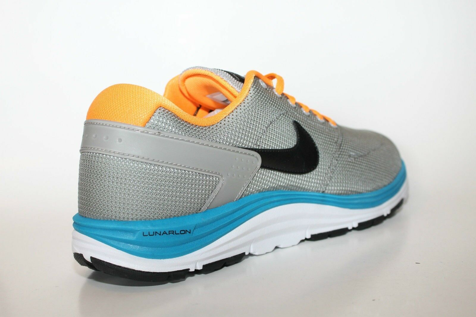 Nike Men's Lunar Rod Paul Rodriguez 537693-003 Grey Citrus New In Box Comfortable