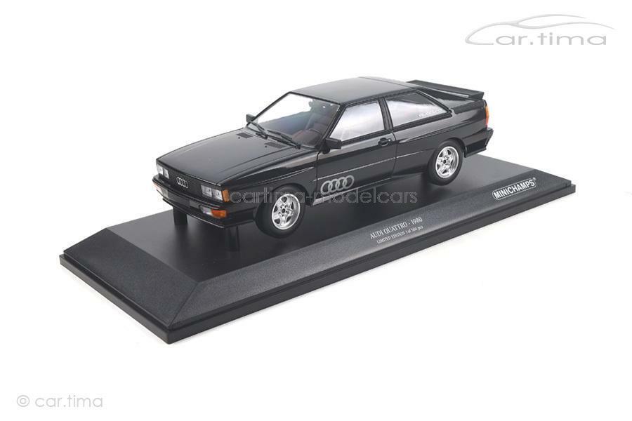 incentivi promozionali AUDI Quattro 1980-NERO - 1 of 504-MINICHAMPS - 1 18 18 18 - 155016121  punti vendita