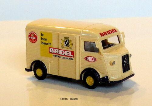 Busch 41916-Spur HO 1:87 un nostálgico furgoneta citroen h /'Bridel/'