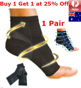 a41bbac4d6 Image is loading Plantar-Fasciitis-Compression-Socks-Foot-Sleeve-Ankle- Support-