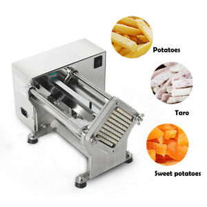 60W Stainless Steel Electric Potato French Fries Cutter Carrot Cucumber Cutter