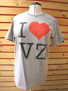New-VON-ZIPPER-MENS-XL-Sport-T-Shirt-BOXER-TOP-grey-RRP-49-BARGAIN