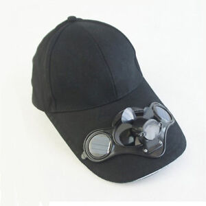 6d727693294 Details about Novelty Sports Hats Sun Solar Power Hat Cap with Cooling Fan  fit outdoor
