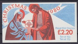 United-Kingdom-MH-51-Stamp-Booklet-Christmas-Booklet-Mint-MNH