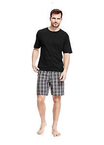 Nachtwäsche Neueste Kollektion Von M&s Mens Cotton T-shirt & Shorts Loungewear Size Small Bnwt Buy One Give One Kleidung & Accessoires