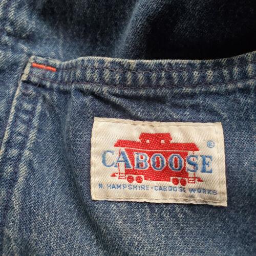 RARE LRGE VTG 70s Caboose WORKS Men's Blanket Line